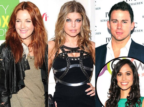 Drew Barrymore, Channing Tatum, Fergie, Kimberly Snyder