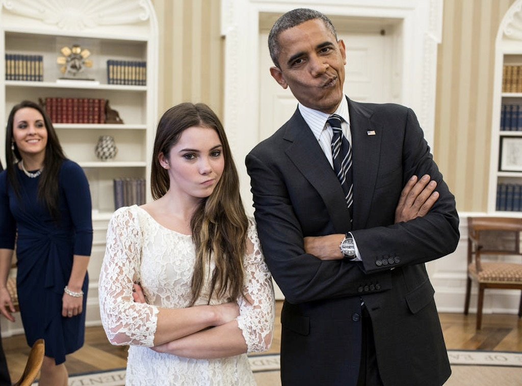 McKayla Maroney, Barack Obama