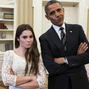 McKayla Maroney, Barack Obama