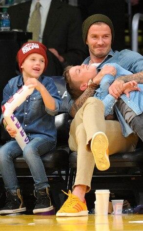 Cruz Beckham, David Beckham, Romeo Beckham