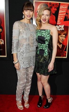 Jessica Biel, Scarlett Johansson