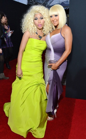 Nicki Minaj, Christina Aguilera