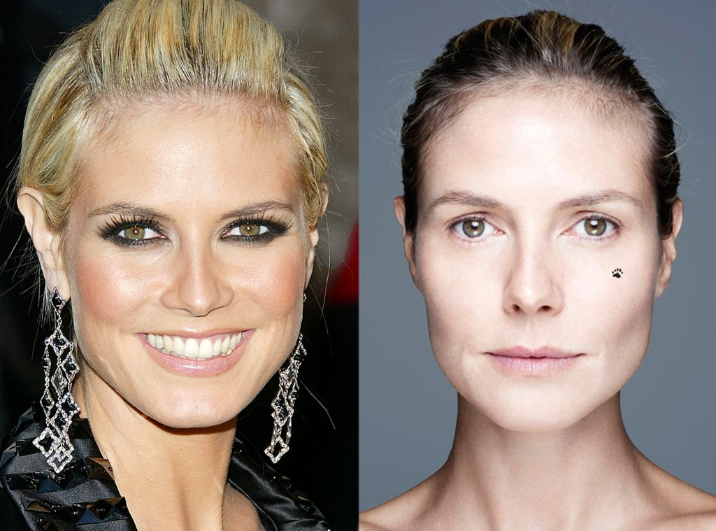 Heidi Klum from Stars Without Makeup | E! News