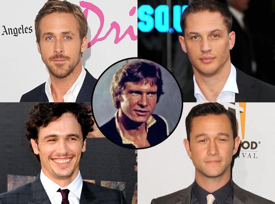 Han Solo, James Franco, Joseph Gordon Levitt, Ryan Gosling, Tom Hardy