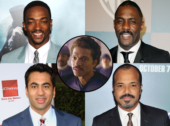 Lando Calrissian, Anthony Mackie, Jeffrey Wright, Idris Elba, Kal Penn