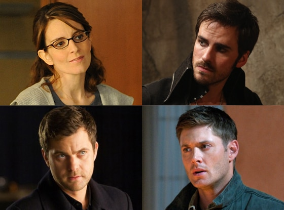 Colin O'Donoghue, Once Upon a Time Tina Fey, 30 Rock Jensen Ackles, Supernatural Joshua Jackson, Fringe
