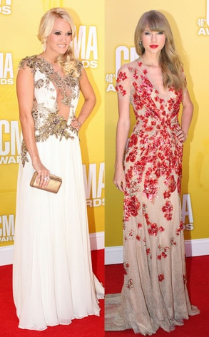 CMA's, Carrie Underwood, Taylor Swift