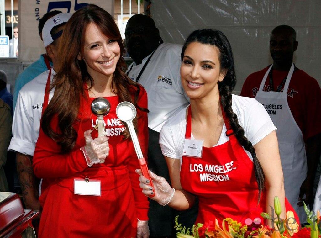 Kim Kardashian, Jennifer Love Hewitt