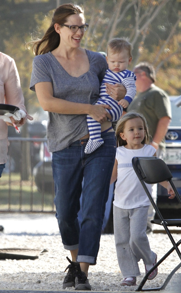 Jennifer Garner, Samuel, Seraphina