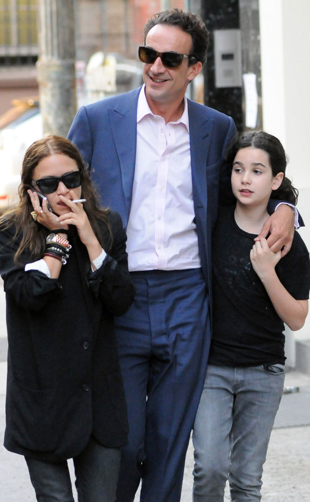 Mary-Kate Olsen, Olivier Sarkozy, Sarkozy's daughter