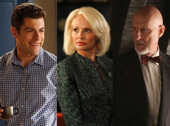 James Cromwell, American Horror Story Asylum, Ellen Barkin, The New Normal, Max Greenfield, New Girl