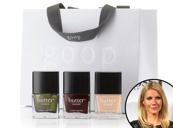 Gwyneth Paltrow, GOOP Nail Polish