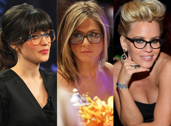 Four-Eyes Face-Off: Zooey vs. Aniston vs. McCarthy