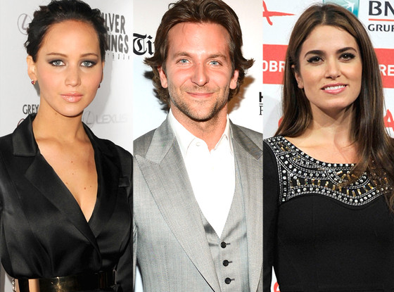 Jennifer Lawrence, Bradley Cooper, Nikki Reed