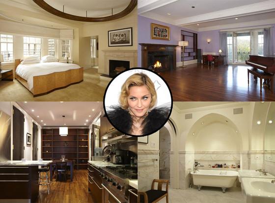 Madonna, NYC Apartment
