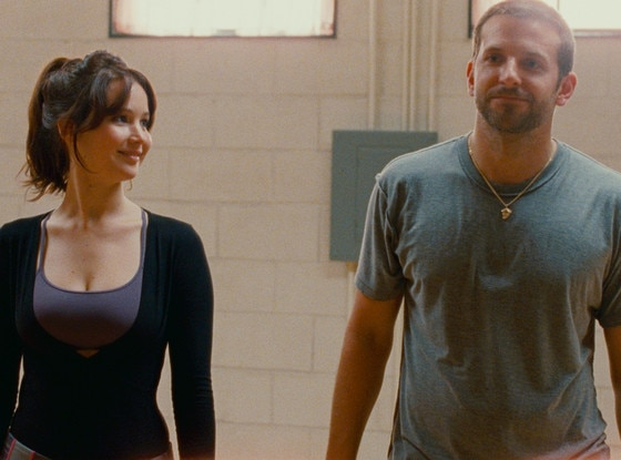 Jennifer Lawrence, Bradley Cooper, Silver Linings Playbook