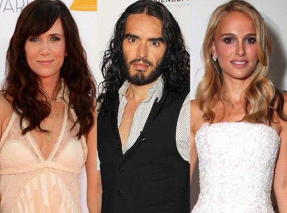 Kristen Wiig, Russell Brand, Natalie Portman