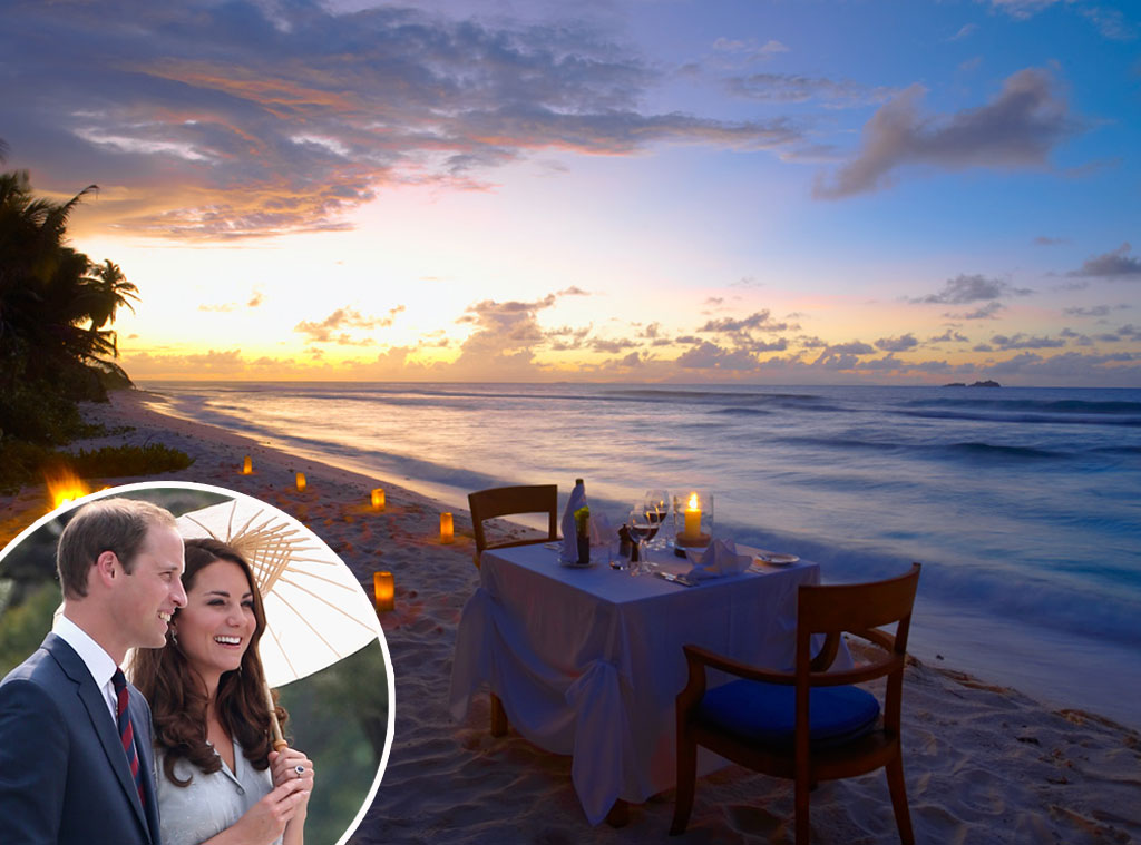 Kate Middleton, Prince William, Fregate Island