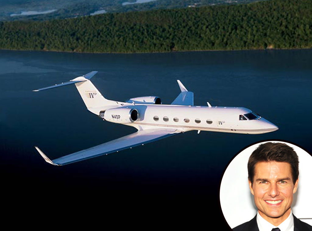 Tom Cruise, Gulfstream Jet