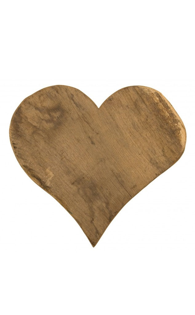 Vintage Heart Cutting Board