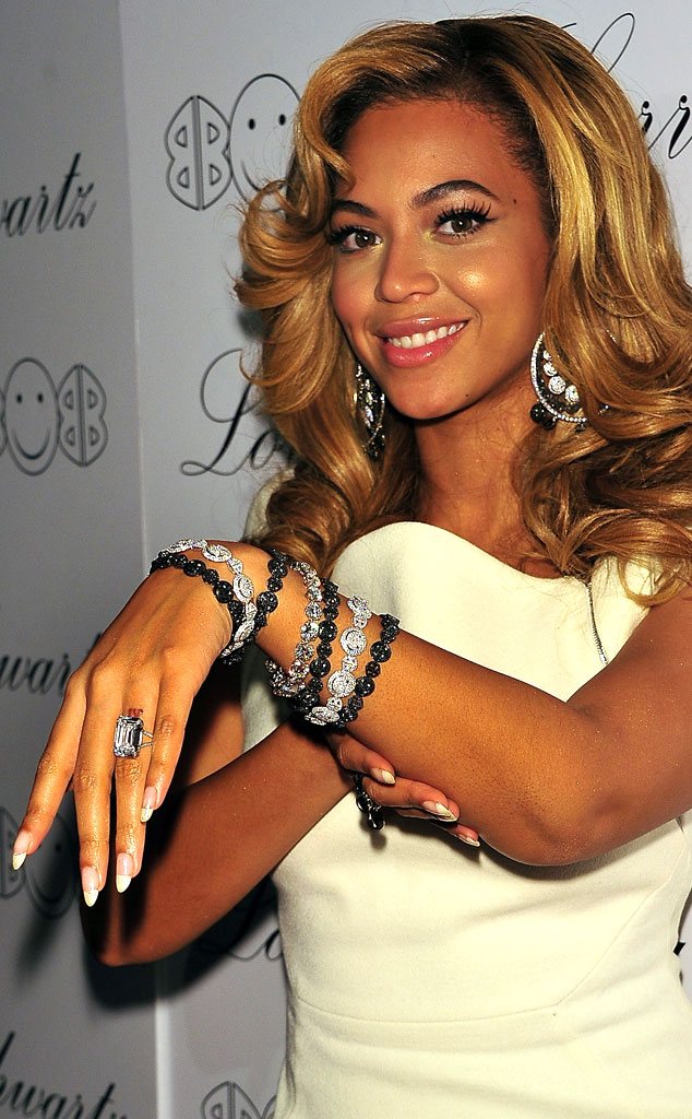Beyonce Knowles Engagement Ring