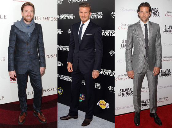 Ewan McGregor, David Beckham, Bradley Cooper