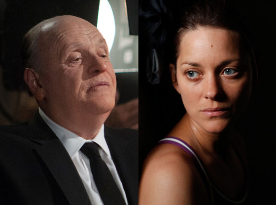 Anthony Hopkins, Hitchcock, Marion Cotillard, Rust and Bone