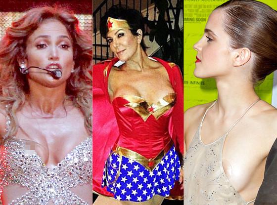 Jennifer Lopez, Kris Jenner, Emma Watson