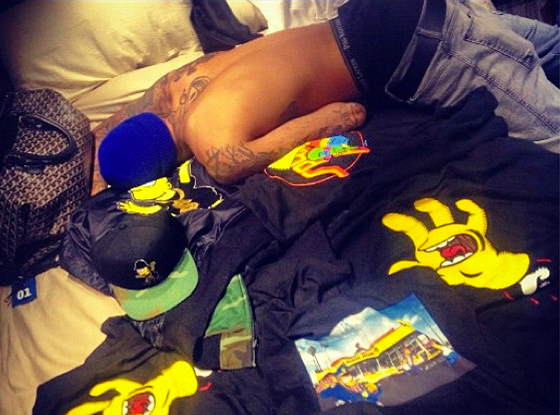 Chris Brown, Rihanna, Instagram