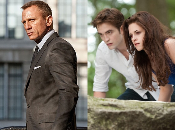 Skyfall, Breaking Dawn Part 2
