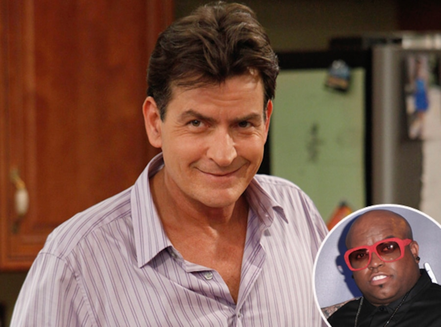 Charlie Sheen, Anger Management, Cee Lo Green