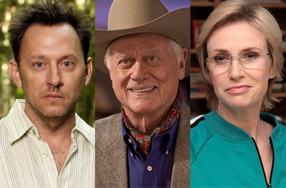 Jane Lynch, Larry Hagman, Michael Emerson