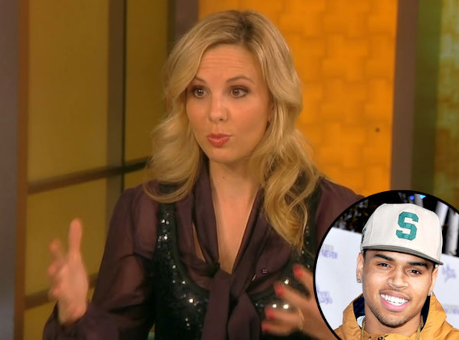Elizabeth Hasselbeck, Chris Brown