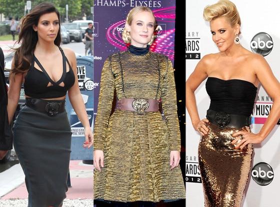 Kim Kardashian, Diane Kruger, Jenny McCarthy