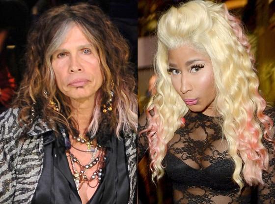 Nicki Minaj, Steven Tyler