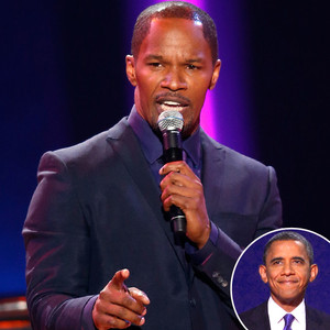 Jamie Foxx, Barack Obama