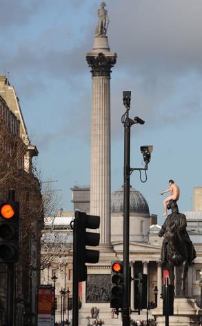 Naked Man, Whitehall
