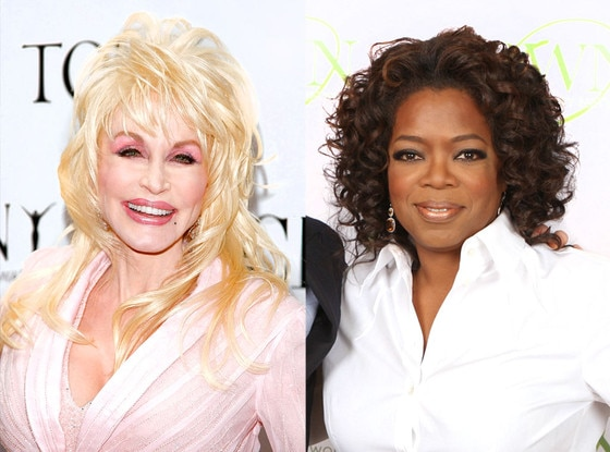 Dolly Parton, Oprah Winfrey