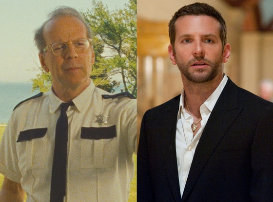 Bruce Willis, Moonrise Kingdom, Bradley Cooper, Silver Lining Playbook