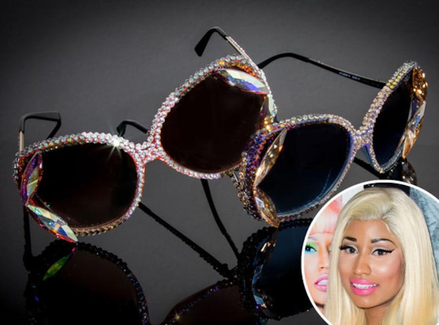 Nicki Minaj, Swarovski Sunglass Hut sunglasses