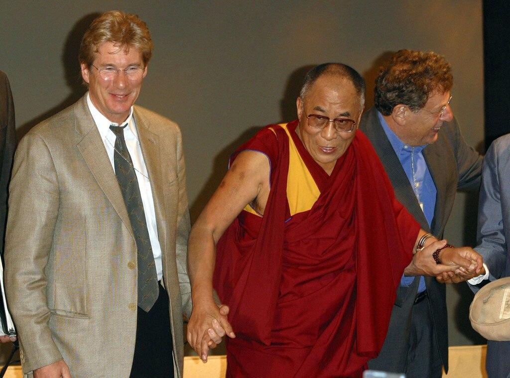 Richard Gere, Dalai Lama