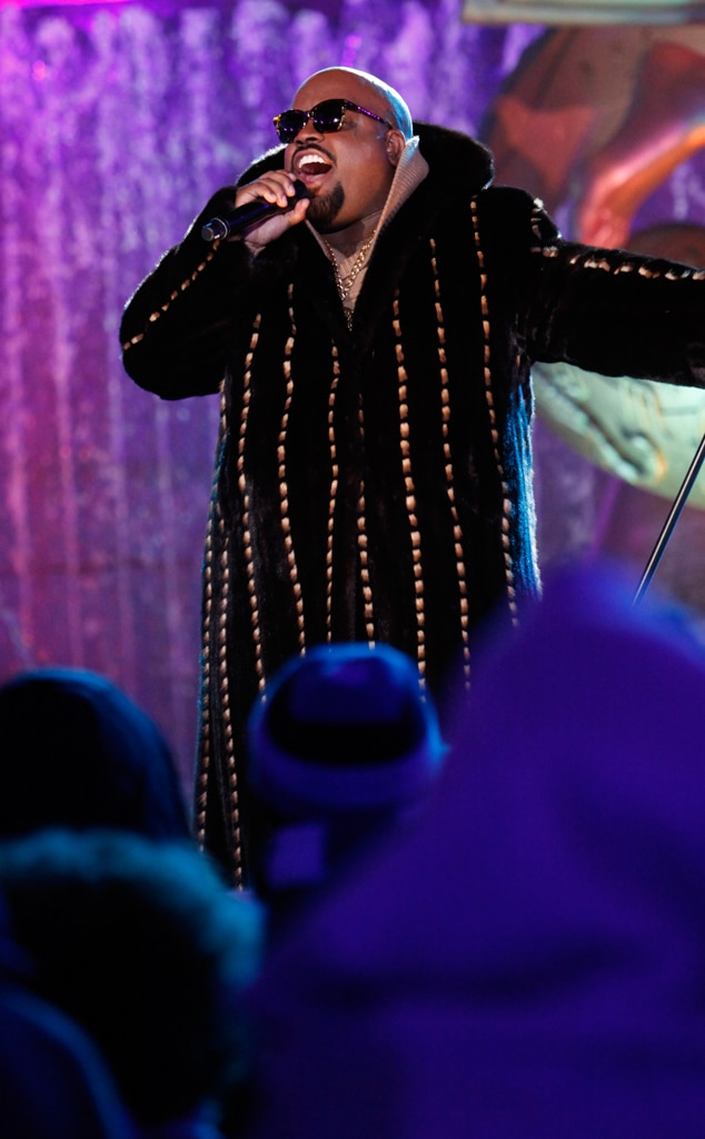 CeeLo Green, Rockefeller ChristmasTree Lighting