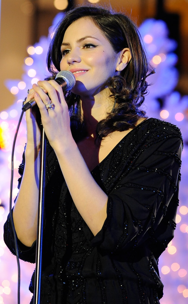 Katharine McPhee, Rockefeller ChristmasTree Lighting