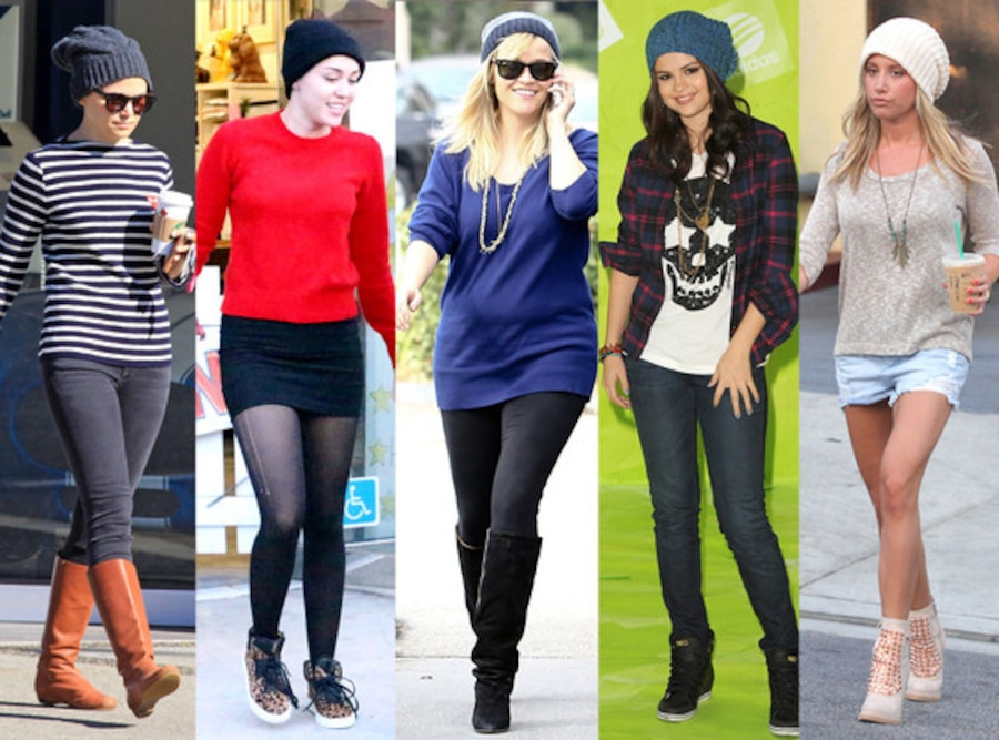 Ginnifer Goodwin, Miley Cyrus, Reese Witherspoon, Selena Gomez, Ashley Tisdale