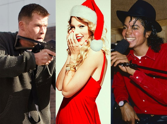 Chris Hemsworth, Red Dawn, Taylor Swift, Michael Jackson, Bad 25
