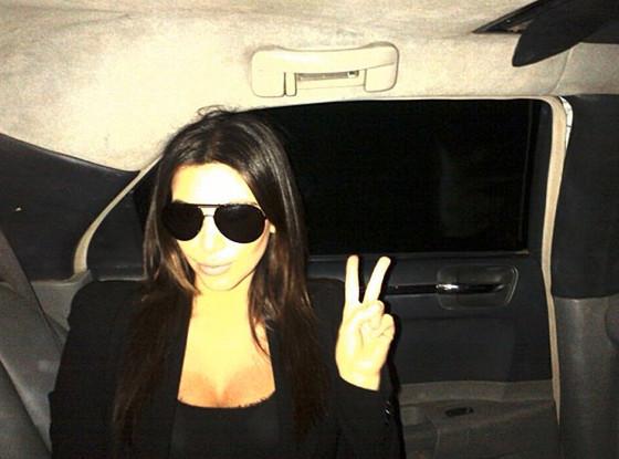 Keeping Up With The Kardashians, Kim Kardashian, Twit Pic