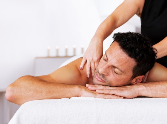 Guy Getting Massage