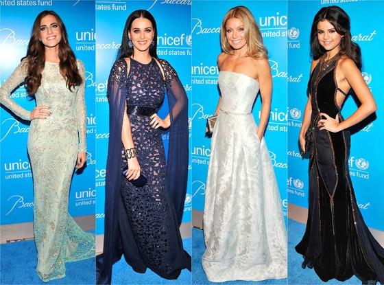Kelly Ripa, Katy Perry, Selena Gomez, Allison Williams
