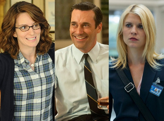 Claire Danes, Homeland, Jon Hamm, Mad Men, Tina Fey, 30 Rock