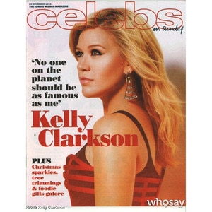 Kelly Clarkson, Sunday Mirror Magazine, WhoSay